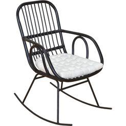 home affaire schommelstoel zwart