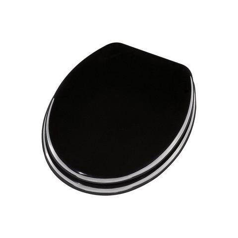 Badkameraccessoires Toiletzitting Ascoli 478388 zwart