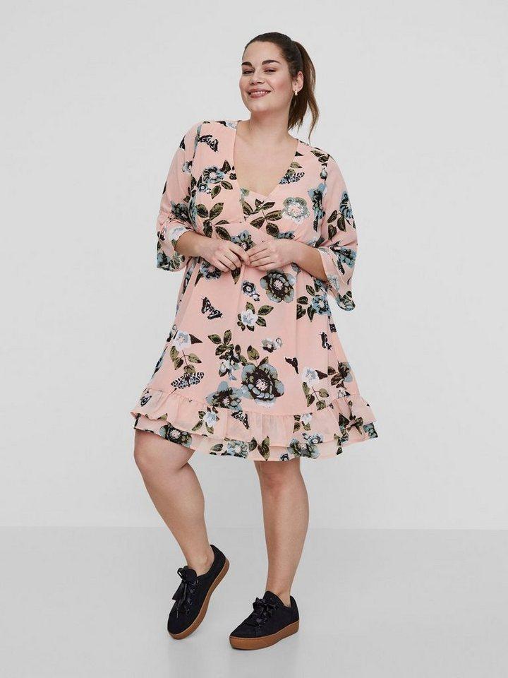 Junarose Korte jurk roze