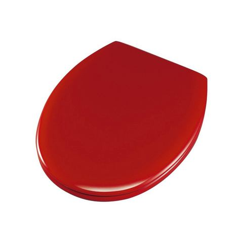 Badkameraccessoires Toiletzitting Ascoli 477644 rood