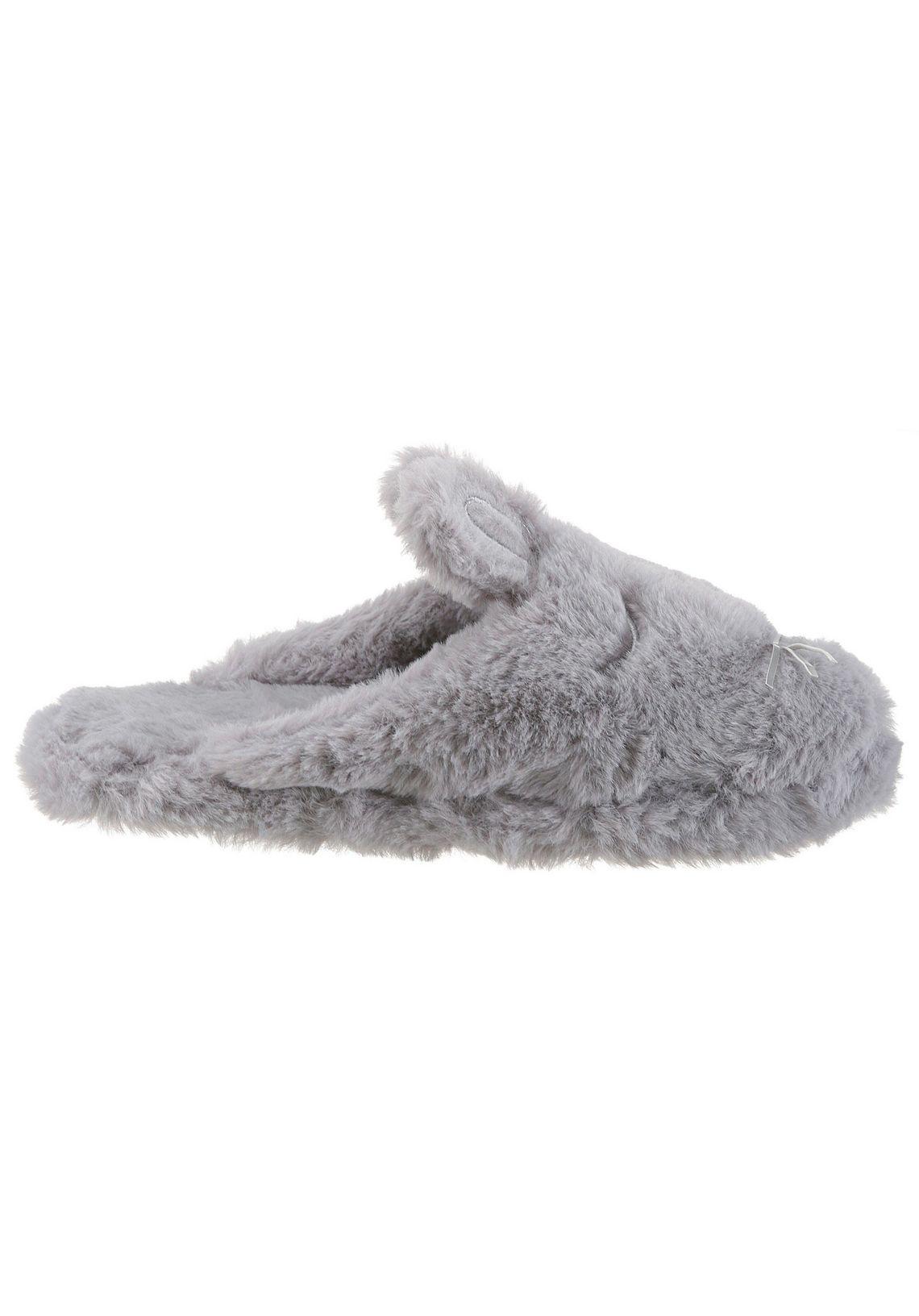 CITY WALK pantoffels makkelijk gevonden  grijs