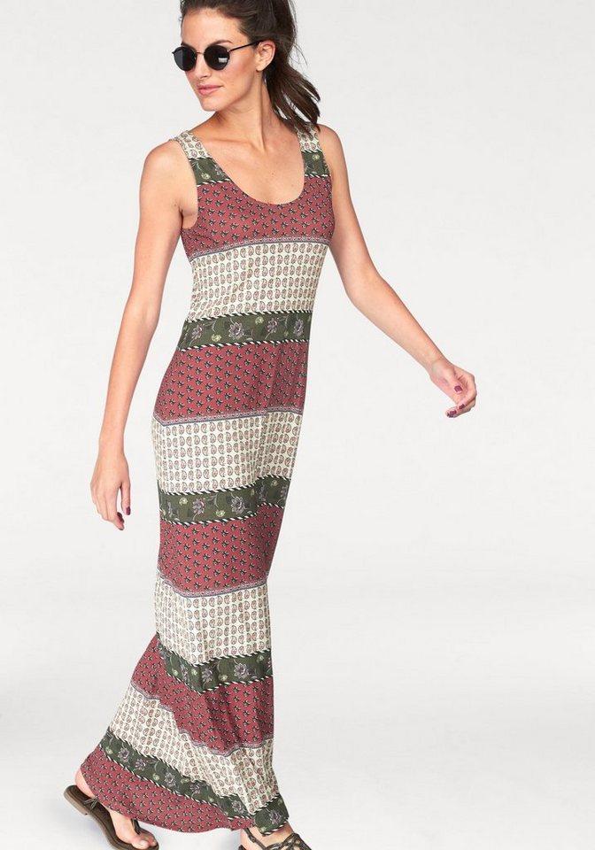 NU 21% KORTING: Aniston Maxi-jurk met brede bandjes multicolor