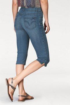 aniston capri jeans blauw