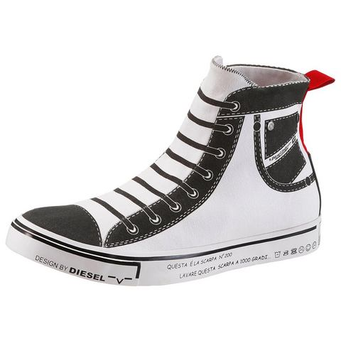 NU 15% KORTING: Diesel sneakers Imaginee Mid Slip On