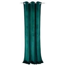 gordijn, »french velvet«, tom tailor, ringen per stuk groen