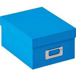 walther opbergbox blauw