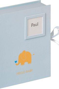walther fotobox baby dier blauw