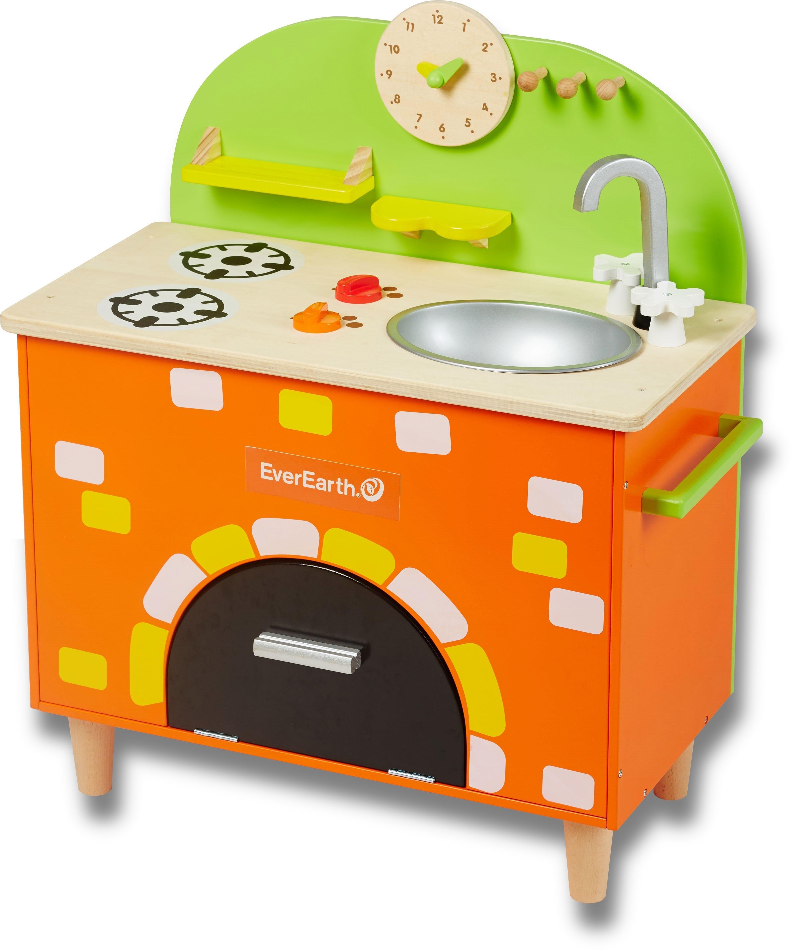 Everearth ® speelkeukentje van hout, »Oven« veilig op otto.nl kopen