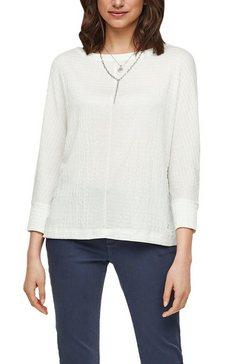 s.oliver blouse zonder sluiting wit