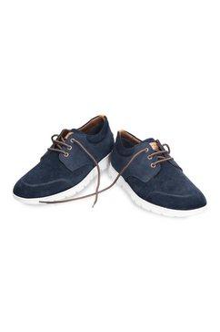 panama jack sneakers met zacht voetbed blauw