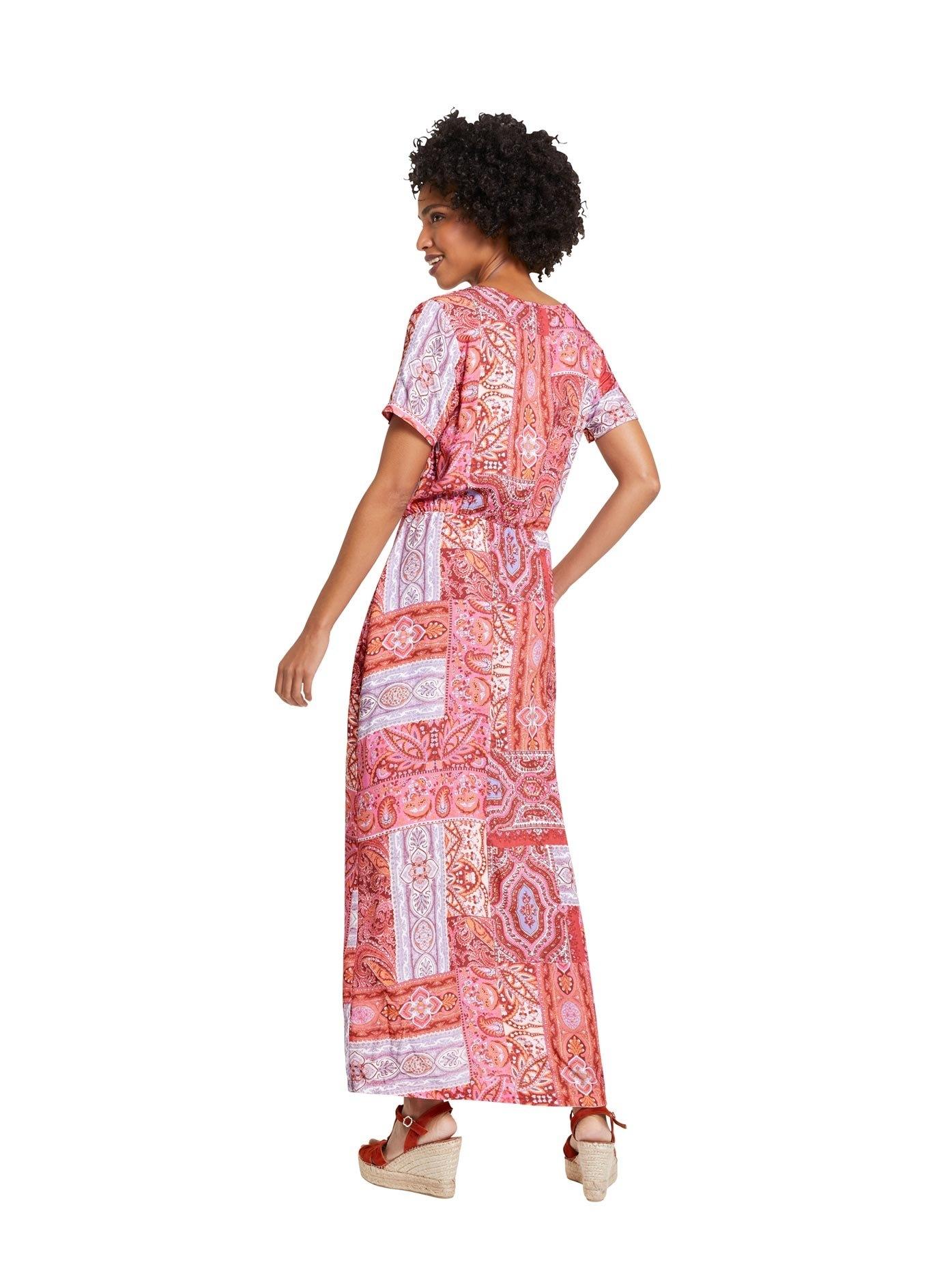 LINEA TESINI by Heine maxi-jurk Gedessineerde jurk voordelig en veilig online kopen