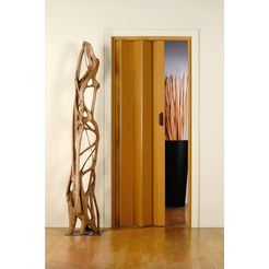 kunststof vouwdeur »monica«, bxh: 83x204 cm, eikenkleur-pastel zonder raam beige