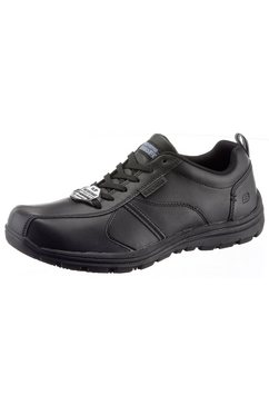 skechers werkschoenen »hobbes frat« zwart