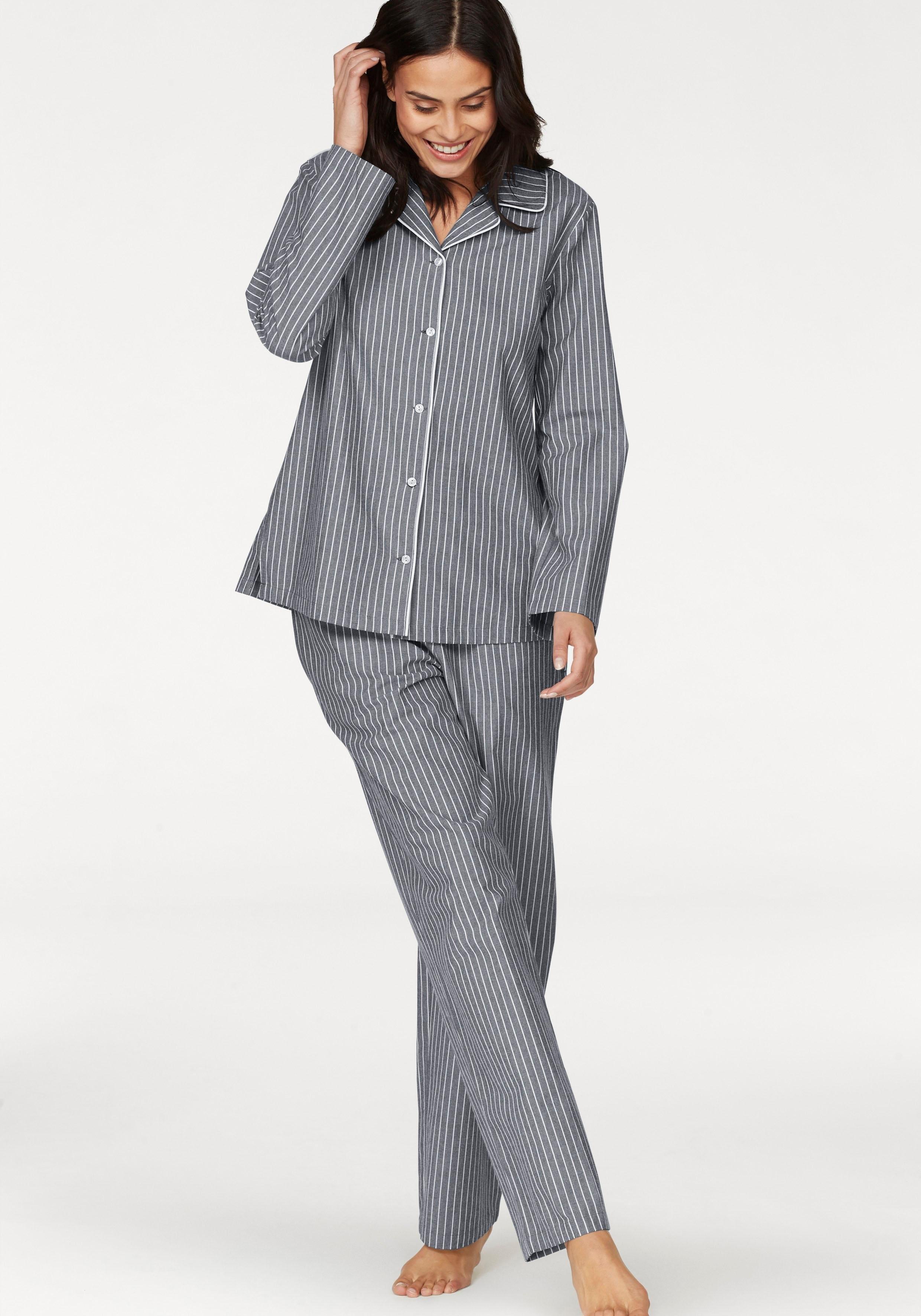 fa227a667e4 gestreepte flanellen pyjama