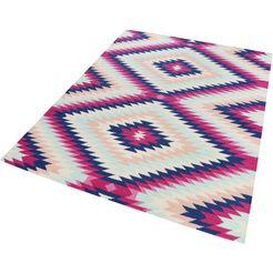 accessorize home wollen kleed aurel zuivere wol, woonkamer multicolor