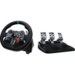 logitech games gaming-stuur g29 driving force zwart