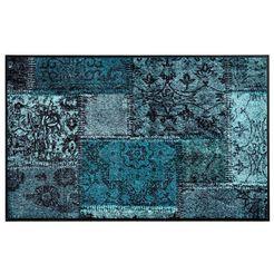 mat patch blauw