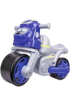 big loopfiets, »big politie bike« blauw