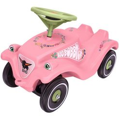 big loopauto, »big bobby car classic flower« roze