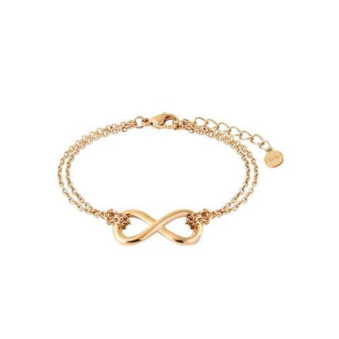 XENOX edelstalen armband Infinity Unendlichkeitsschleife, Symbolic Power, X2544G
