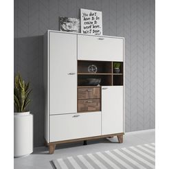 highboard »move«, breedte 101 cm wit
