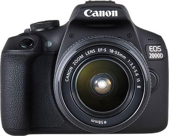 Canon »EOS 2000 D EF-S 18-55 IS II Kit« spiegelreflexcamera (EF-S 18-55 IS II, 24,1 MP, NFC wifi in de webshop van OTTO kopen