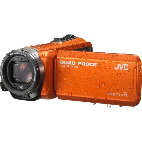 JVC GZ-R405DEU Quadproof Camcorder oranje