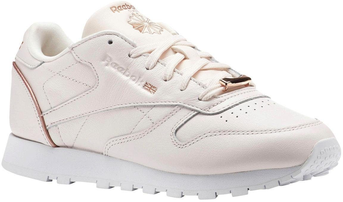 Reebok Chaussures En Cuir Rose Cl Hw W cXfgFSDep