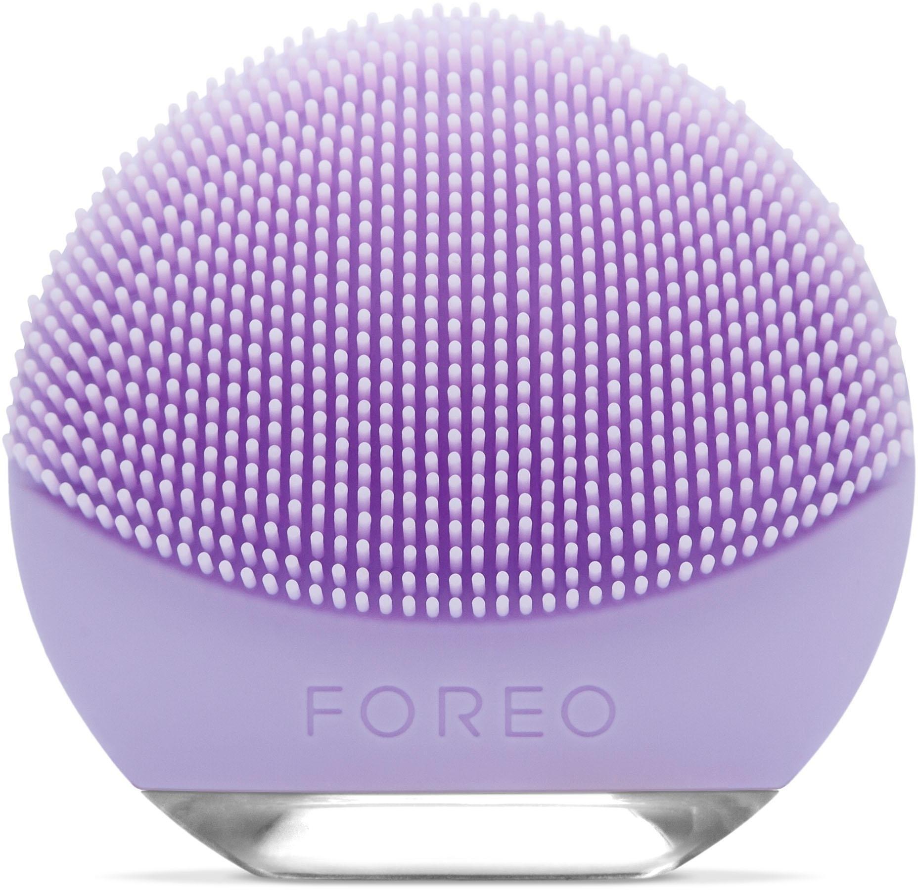FOREO compacte gezichtsreinigingsborstel LUNA go voor de gevoelige huid, anti-agingapparaat nu online kopen bij OTTO