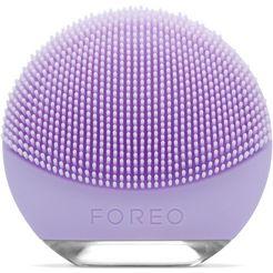 foreo elektrische gezichtsreinigingsborstel luna go voor de gevoelige huid paars