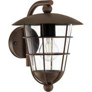 eglo, wandlamp voor buiten »pulfero«, bruin