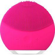 foreo gezichtsreinigingsborstel luna™ mini 2 fuchsia, frisse  personaliseerbare reiniging roze
