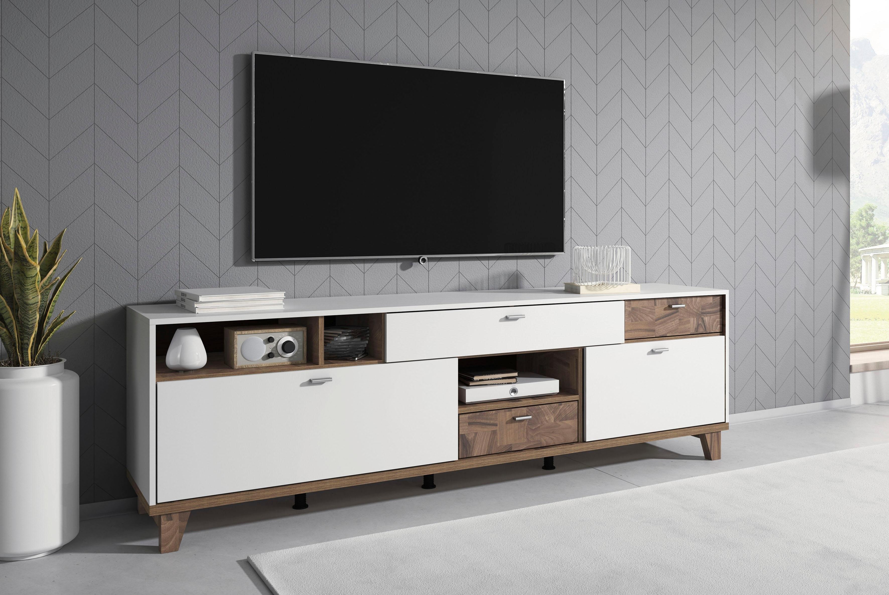 TRENDMANUFAKTUR tv-meubel Move Breedte 206 cm bestellen: 30 dagen bedenktijd