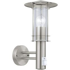 eglo, wandlamp voor buiten »lisio«, zilver