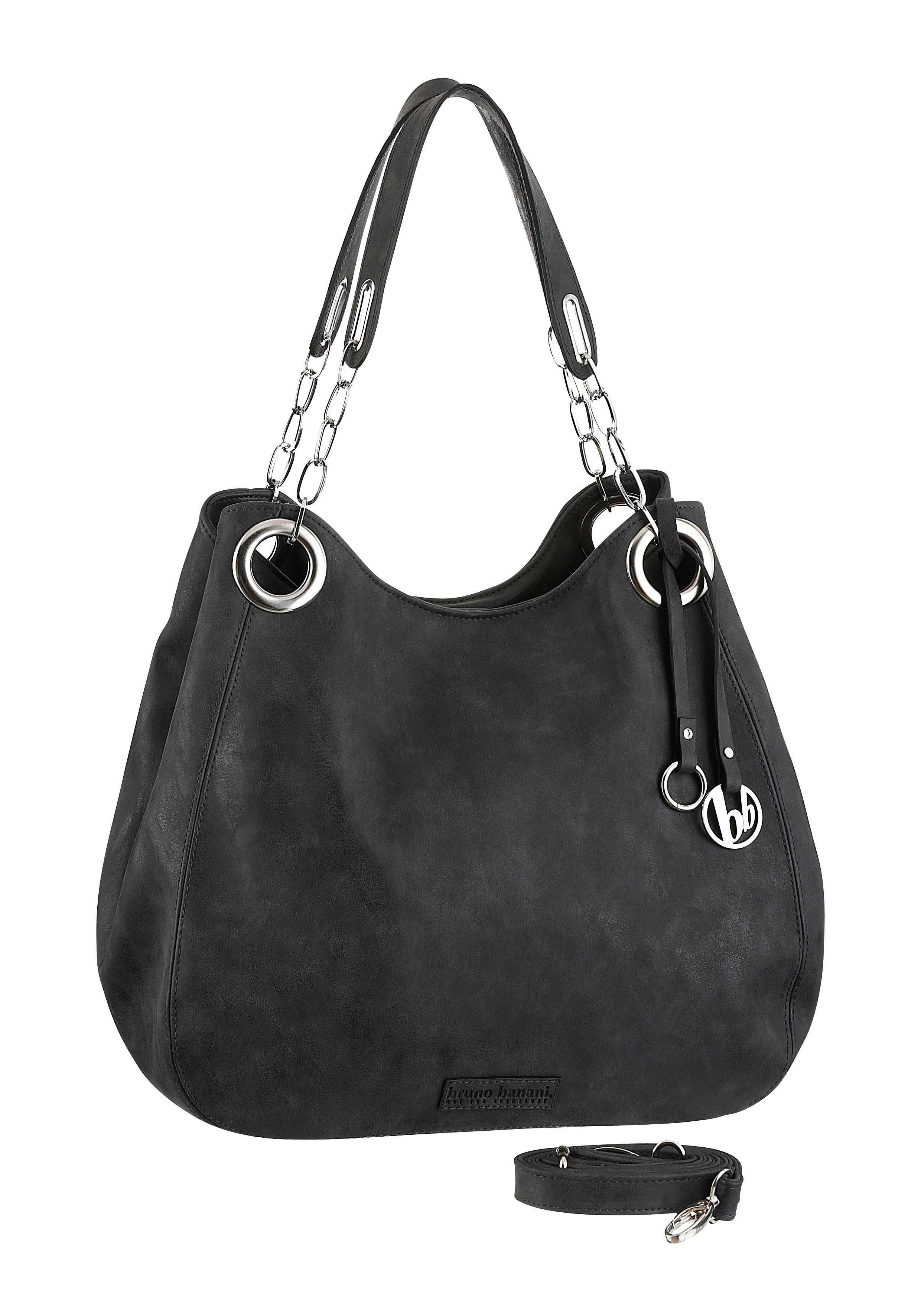 Op zoek naar een Bruno Banani tas met sierhanger en zilverkleurige details? Koop online bij OTTO