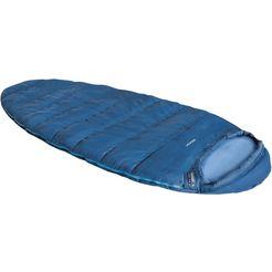 high peak mummieslaapzak »boom« (met inlet) blauw