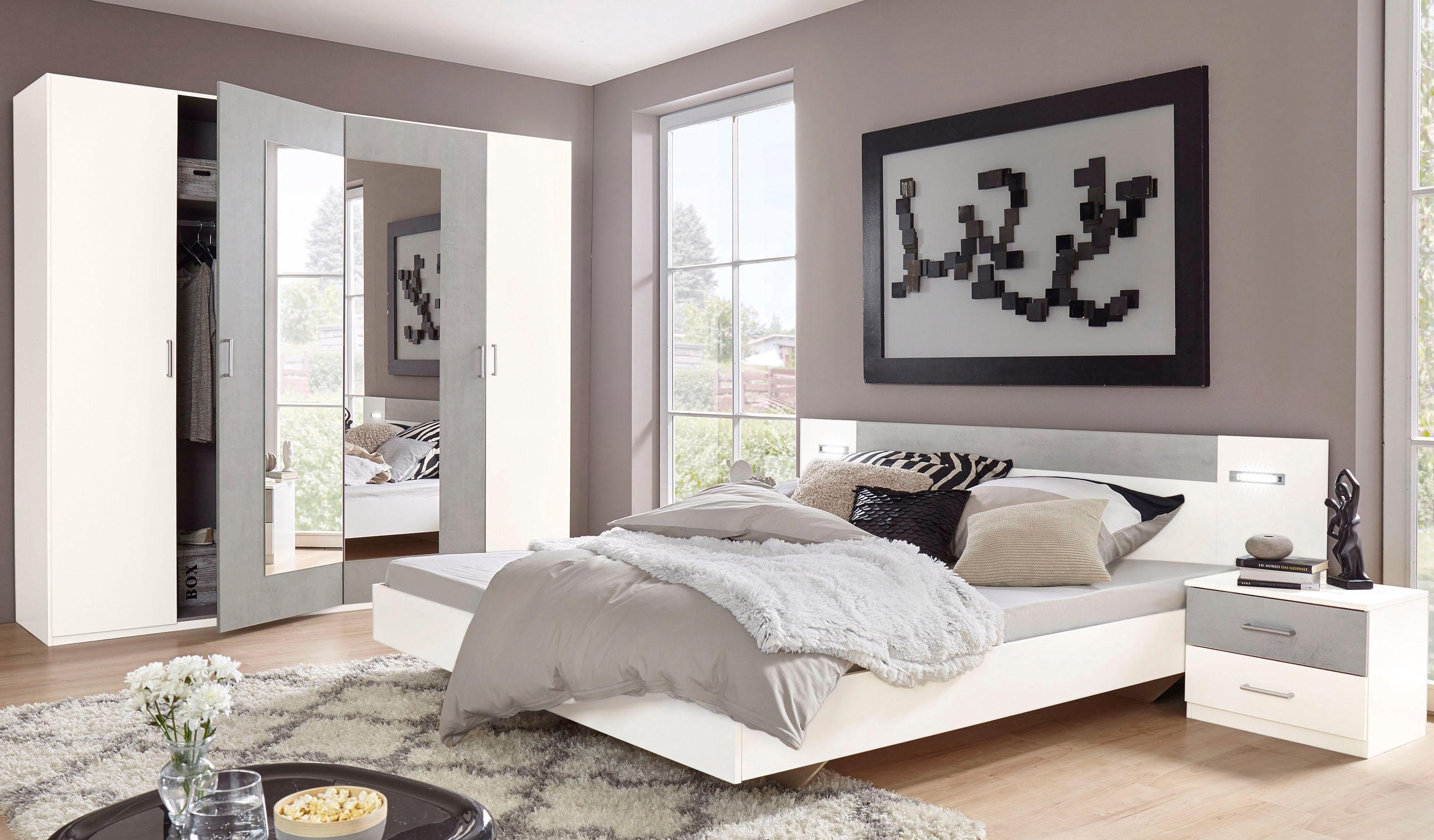 Wimex slaapkamerserie Angie (set, 4 stuks) bij OTTO online kopen