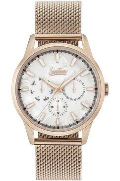 sixties multifunctioneel horloge »six600rgme-22« goud