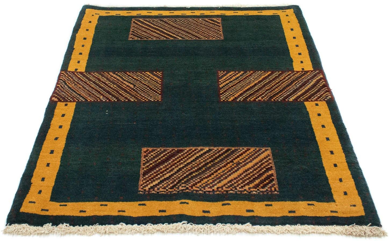 morgenland wollen kleed Loribaft Teppich handgeknüpft grün handgeknoopt bij OTTO online kopen