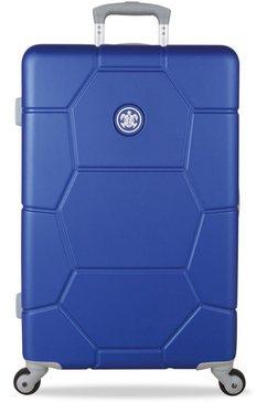 suitsuit harde trolley met 4 wieltjes, »caretta, 65 cm« blauw
