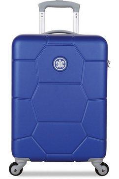 suitsuit harde trolley met 4 wieltjes, »caretta, 55 cm« blauw