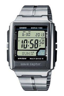 casio funk radiografische chronograaf »wv-59de-1avef« zilver