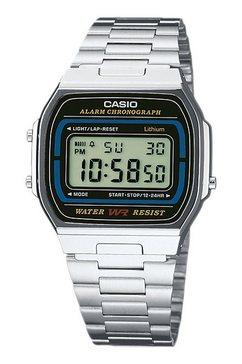 casio vintage chronograaf »a164wa-1ves« zilver