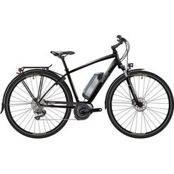 breezer bikes »greenway+ 2017« e-bike (met acculader) zwart