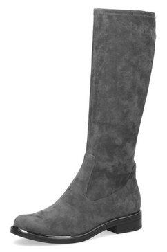 caprice instaplaarzen in klassieke lijn grijs