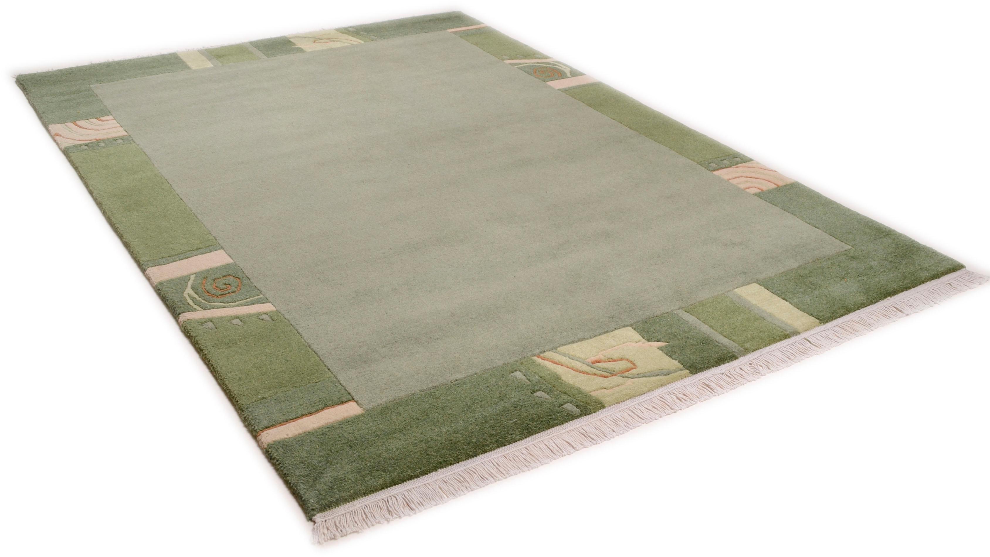 THEKO Vloerkleed, »Sierra 12447«, rechthoekig, hoogte 14 mm, met de hand geknoopt goedkoop op otto.nl kopen