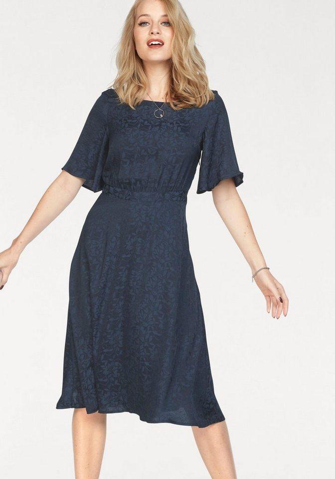 Vero Moda satijnen jurk LOU blauw