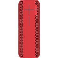 ue ultimate ears megaboom 1.0 losse luidspreker (bluetooth, nfc, handsfreefunctie, app-aansturing) rood