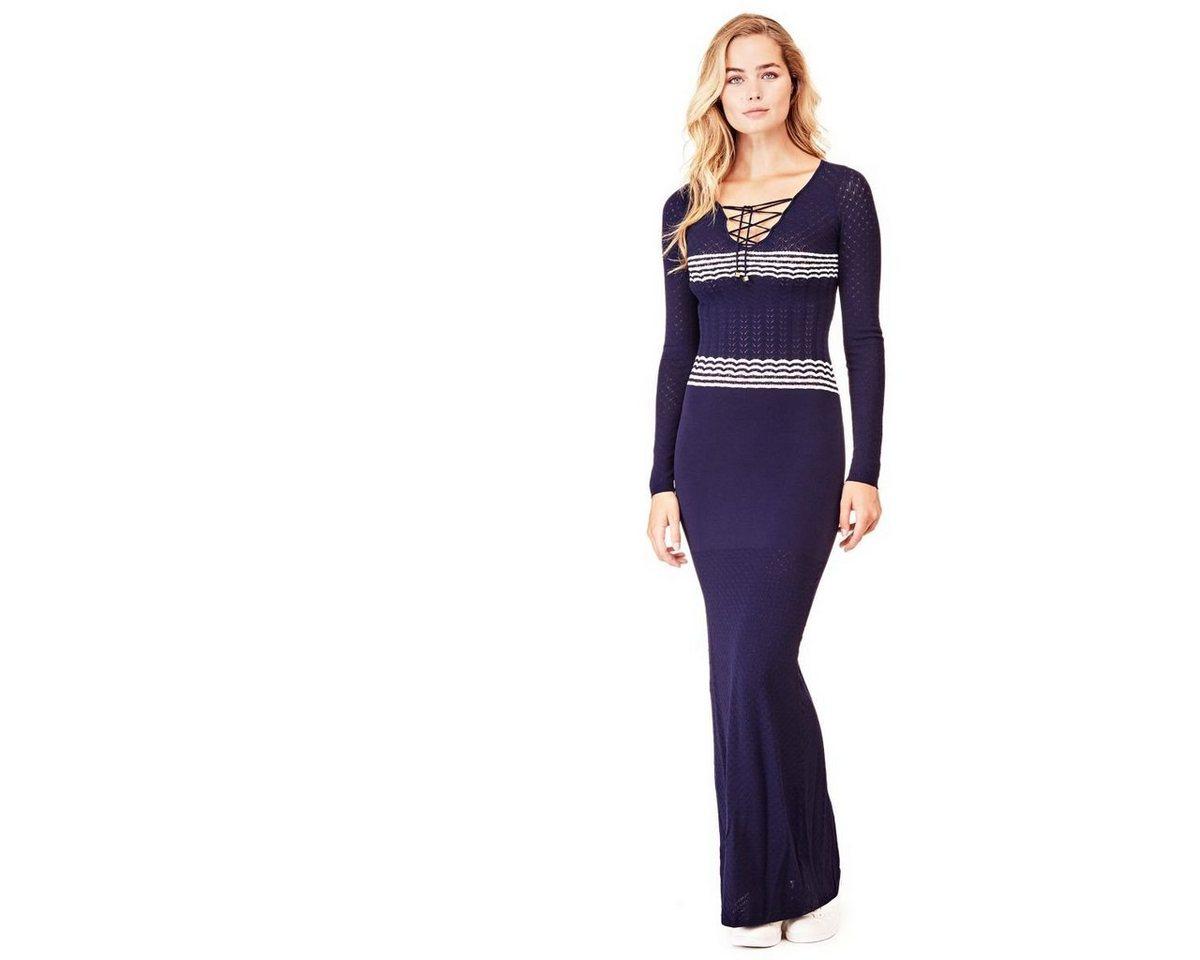 NU 21% KORTING: Guess maxi-jurk blauw