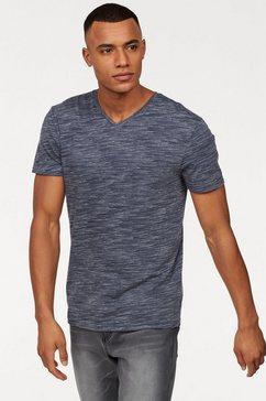john devin t-shirt blauw
